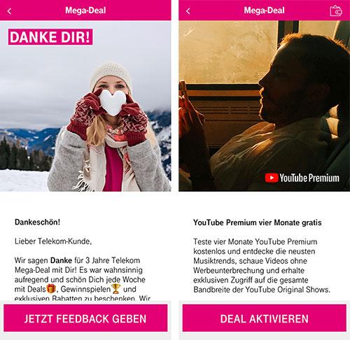 Telekom Megadeal App