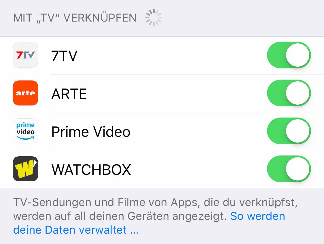 apple positioniert apple tv app zum schauen von. Black Bedroom Furniture Sets. Home Design Ideas