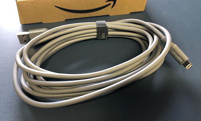 Amazonbasics Lightning Kabel 3 Meter