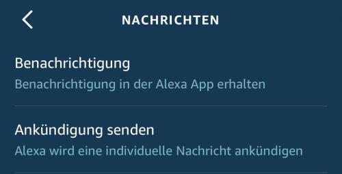 Ankuendigung Alexa