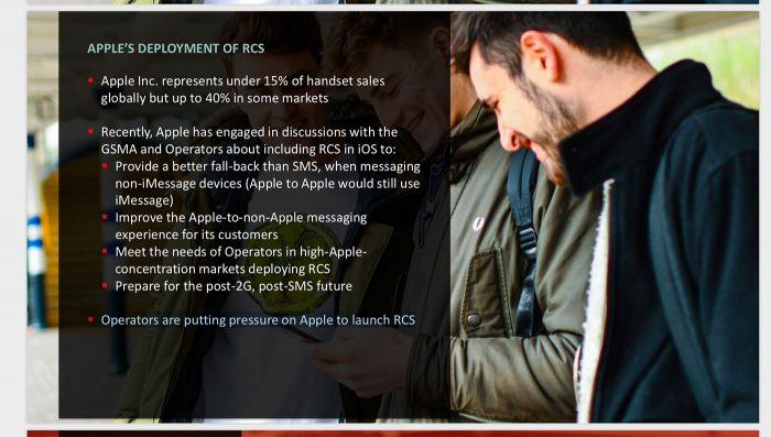 Apple Rcs Talk