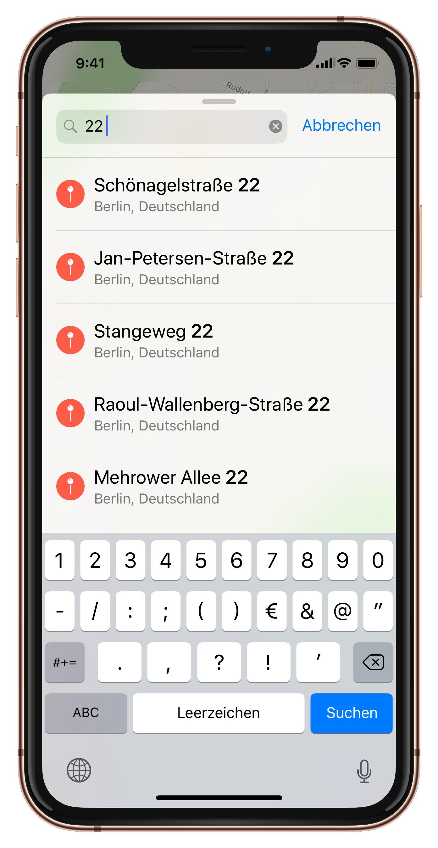 Karte Mit Hausnummern.Apple Karten Die Hausnummer Zuerst Eingeben Iphone Ticker De
