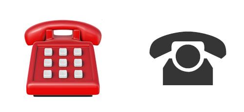 sonderzeichen telefon