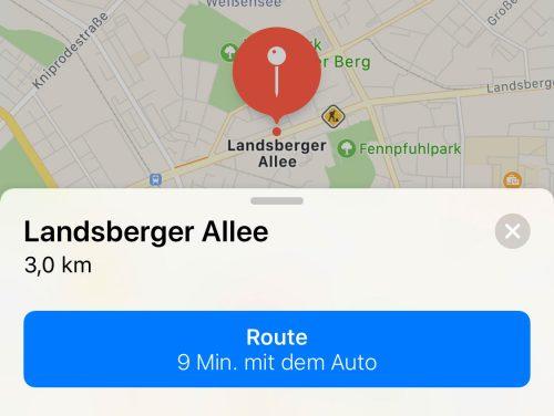 Landsberger Allee