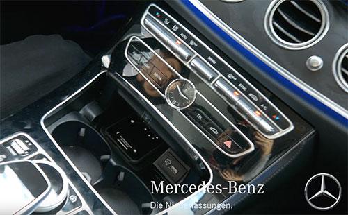 Mercedes Wireless Charging