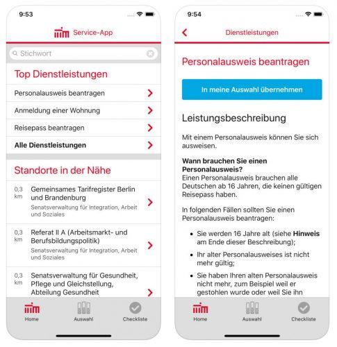 Service App