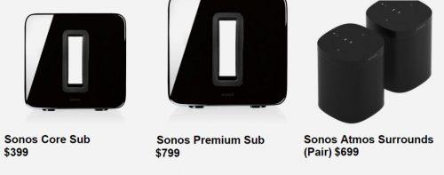 Sonos Umfrage Produkte