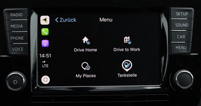 Tomtom Carplay 3