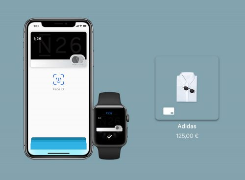 Apple Pay Adidas N26 Promo