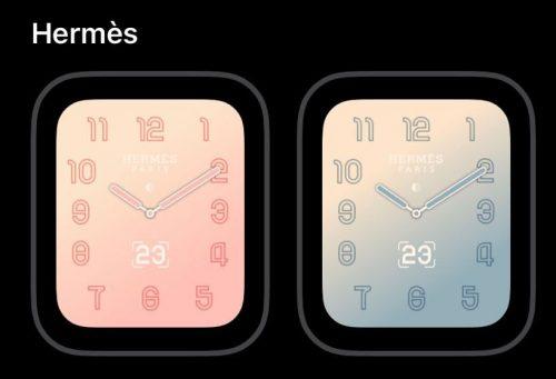 Apple Watch Hermes Zifferblatt