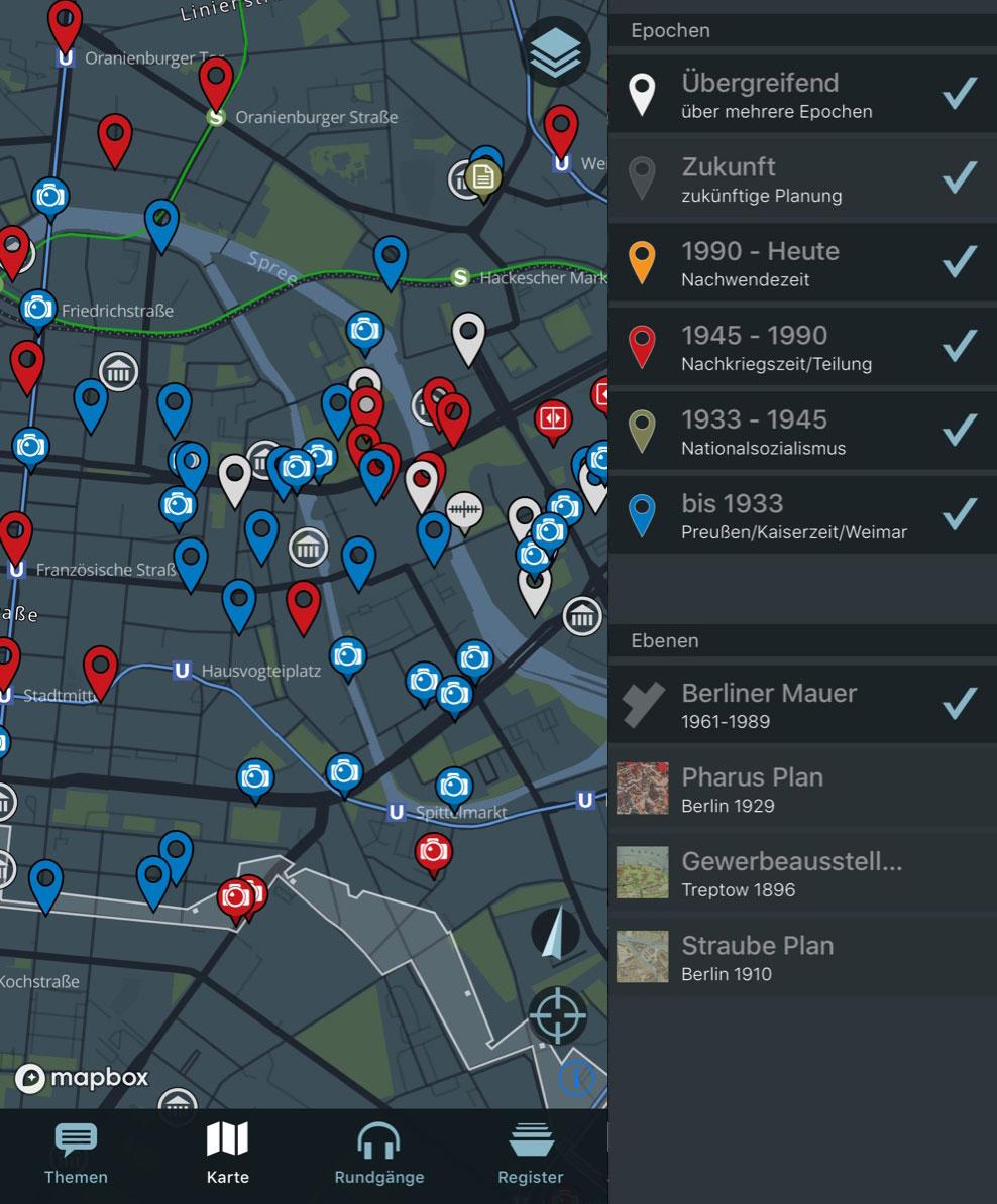 Berlin History App