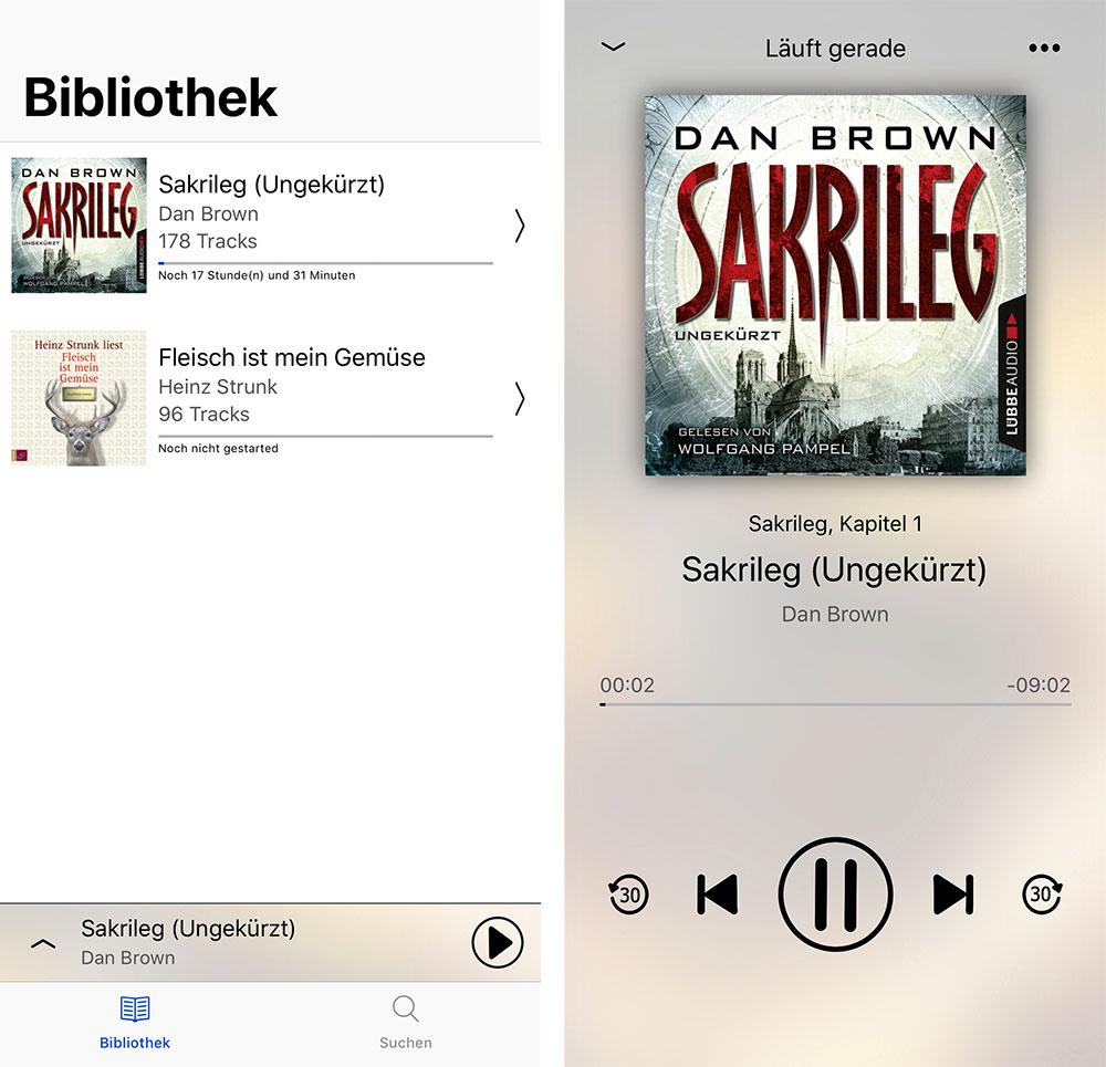 Hörbuch Spotify Empfehlung