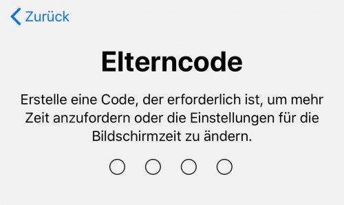 Elterncode
