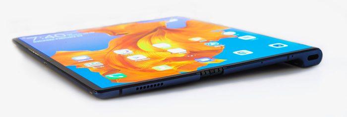 Huawei Mate X Aufgeklappt