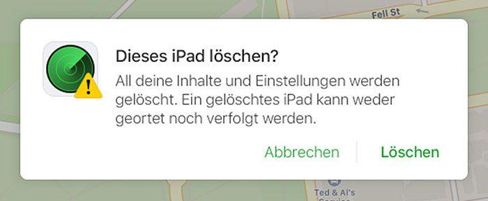 Ipad Loeschen Apple Icloud