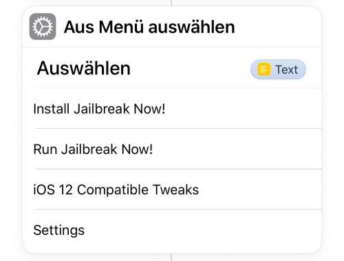 Jailbreak Siri Shortcut Ios 12