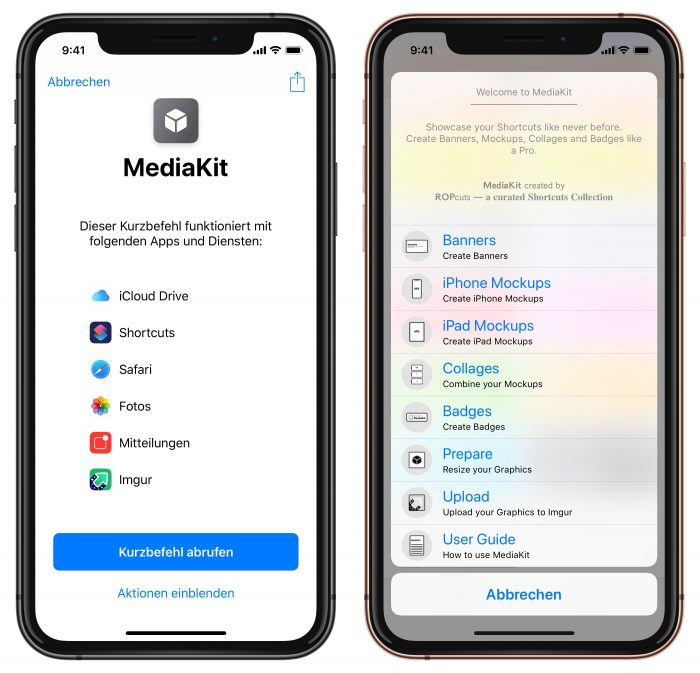Mediakit Screenshot