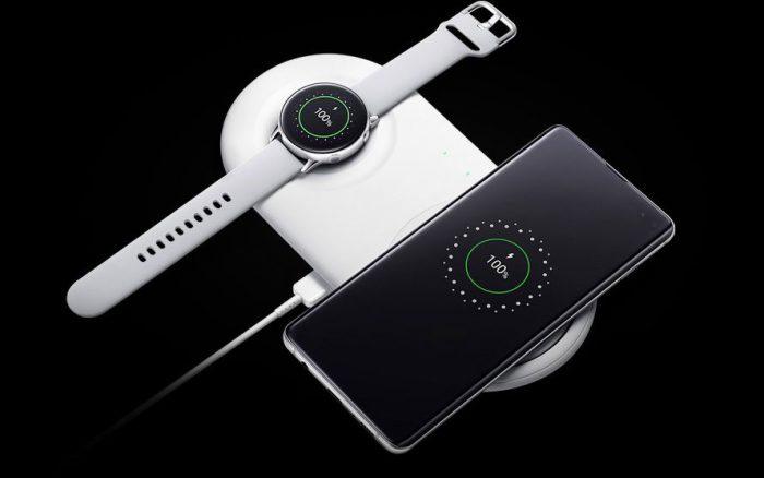Samsung Galaxy Laden Mit Uhr