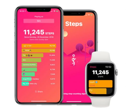 Steps Apple Watch