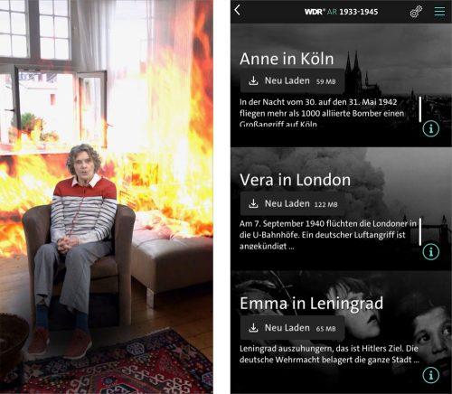 Wdr Augmented Reality App Zweiter Weltkrieg