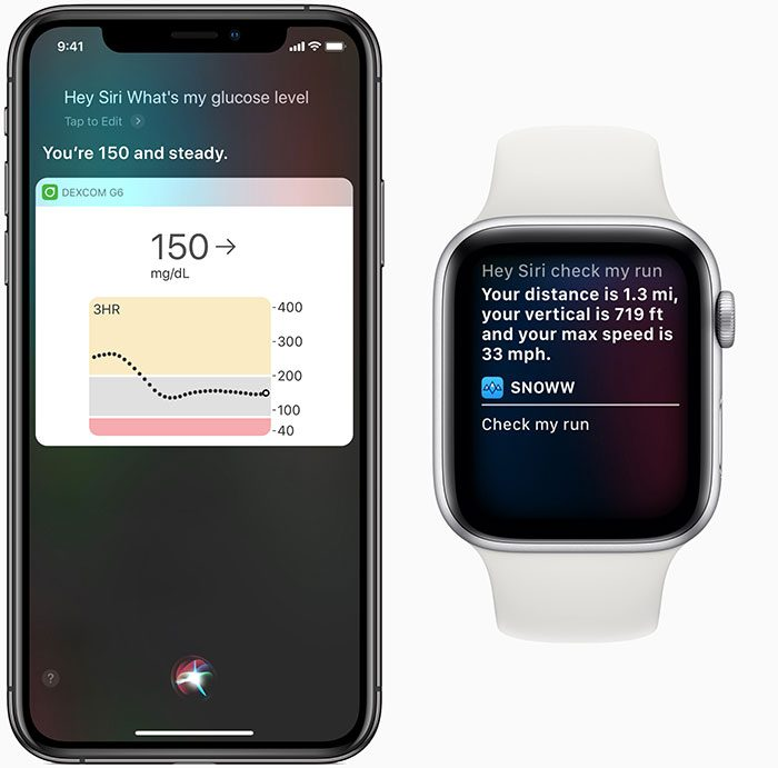 Apple Siri Shortcuts Health And Fitness Glucose Level 02282019
