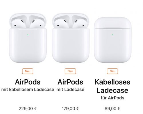 Airpods Familie