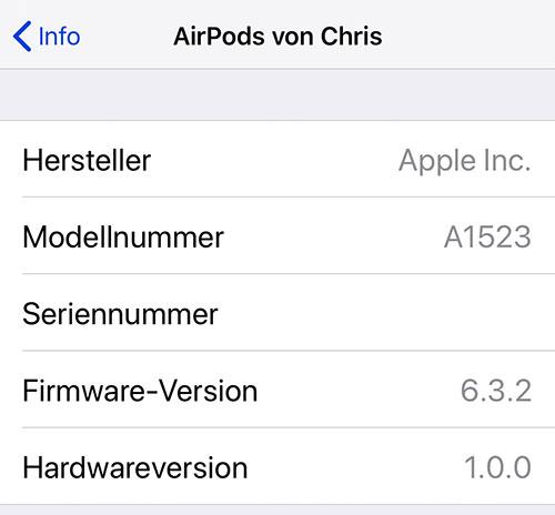 Airpods Firmware Update 6 3 2
