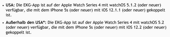 Apple Watch Ekg App Deutschland