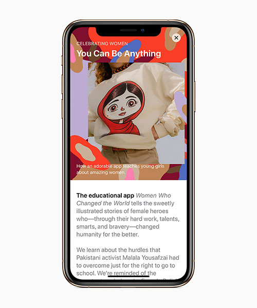 Apple Weltfrauentag Apps