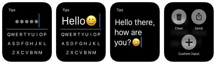 Flicktype Tastatur