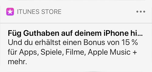 Itunes Guthaben Hinzufuegen App Store App