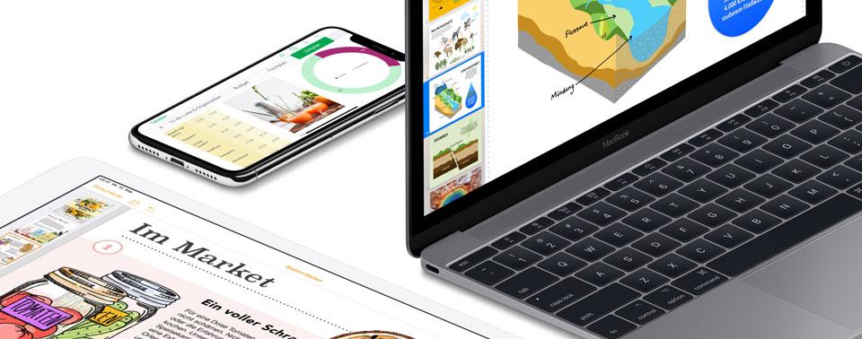 iWork-Apps: Apple erklärt die neuen Funktionen