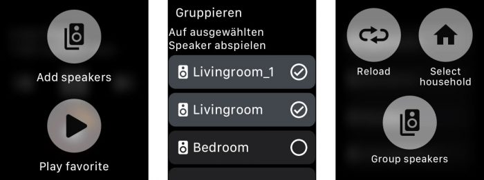 Lyd App Apple Watch Sonos