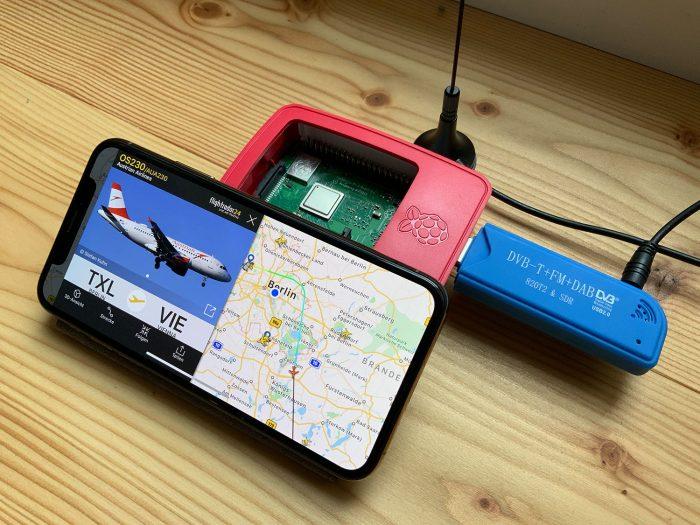 Raspberry Flightradar