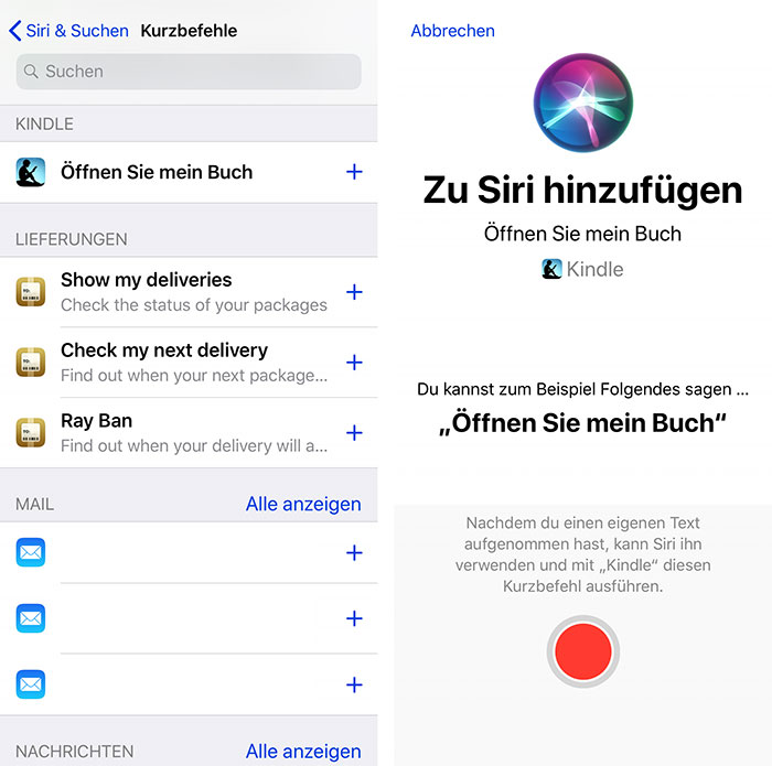 Siri Oeffne Mein Buch Kindle App