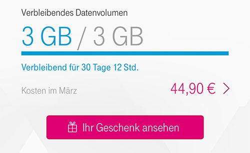 Telekom 500 Mb Datengeschenk Und Neue Streamon Partner Iphone