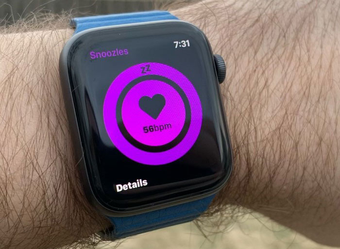 Watchos 6 Health Mockup