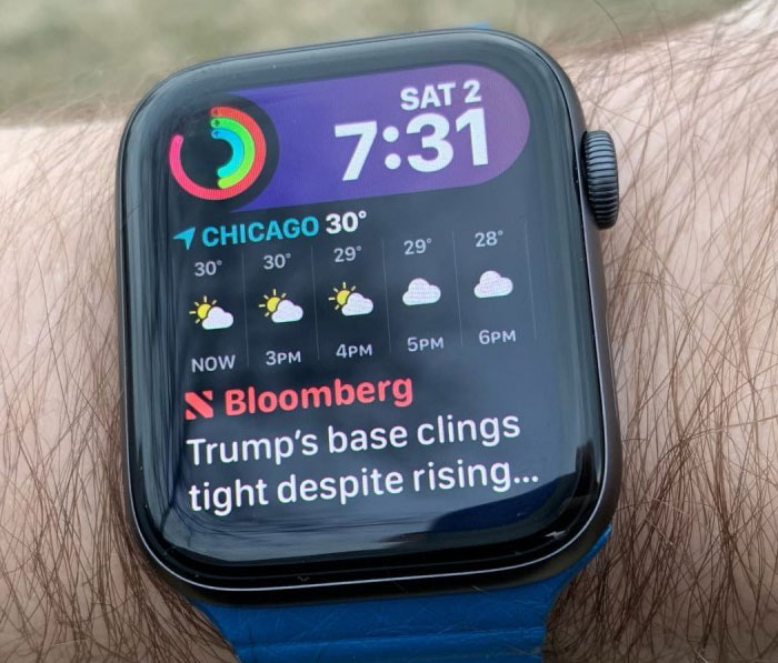 Watchos 6 Siri Watch Face