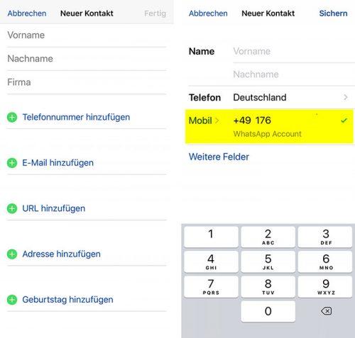 Whats App Rufnummer Abfrage