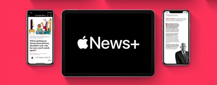 Apple News Plus Feature