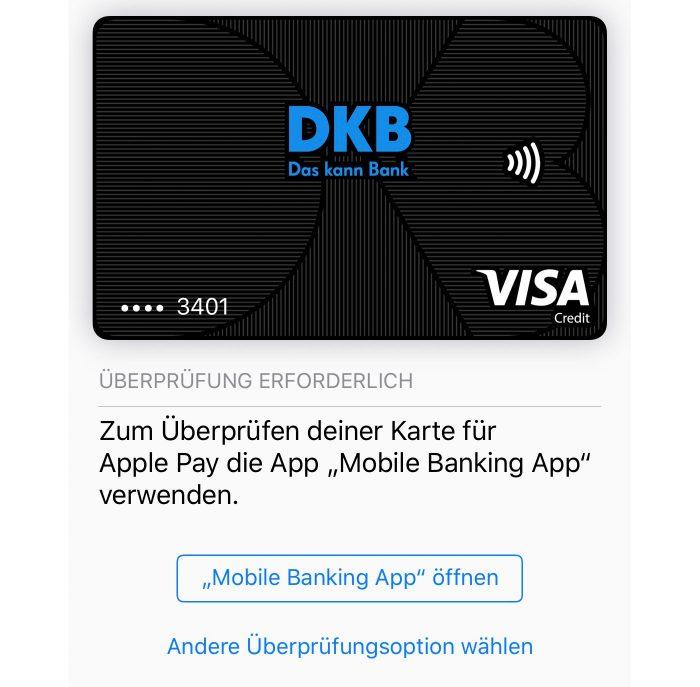 Dkb Apple Pay Deutschland