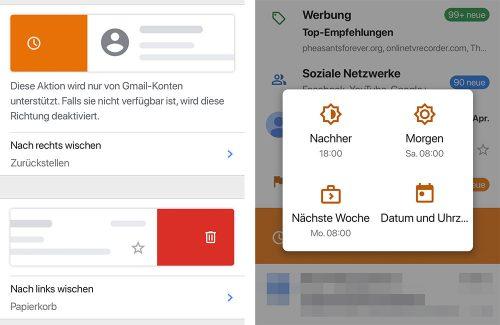 Gmail Ios App Wischgesten