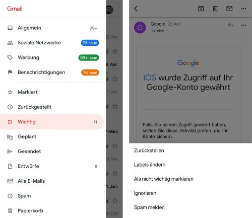 Gmail Nachrichten Als Wichtig Markieren