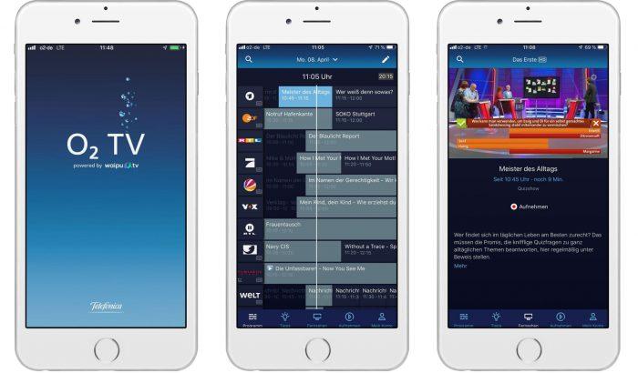 O2 Tv App