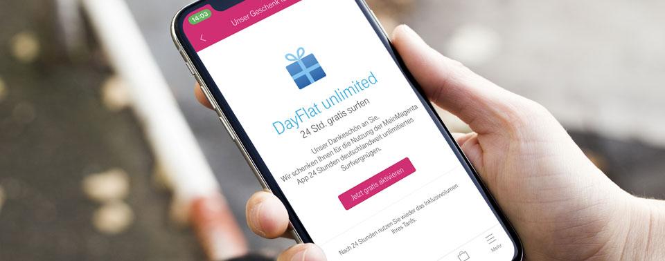 Telekom Spendiert Vertragskunden Eine Kostenlose Dayflat