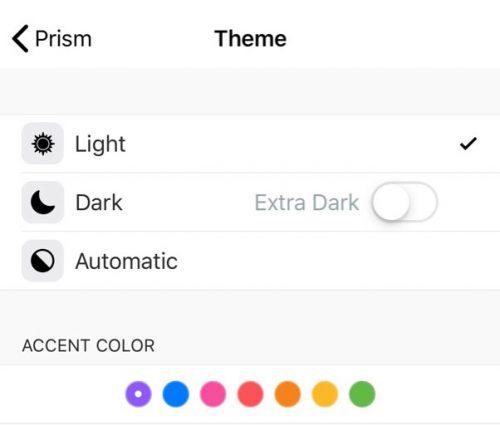 Theme Prism