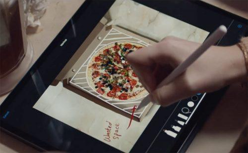 Apple Pizza Karton
