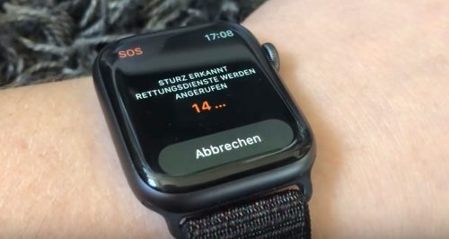Apple Watch Notruf
