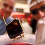 Video-Experiment: Die Apple Watch im Goldbad