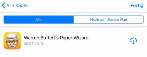 Buffett App Ipad App Store